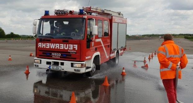 Feuerwehr Günzburg Fahrsicherheitstraining 2019 3