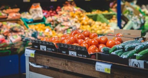 Gemüsestand Wochenmarkt
