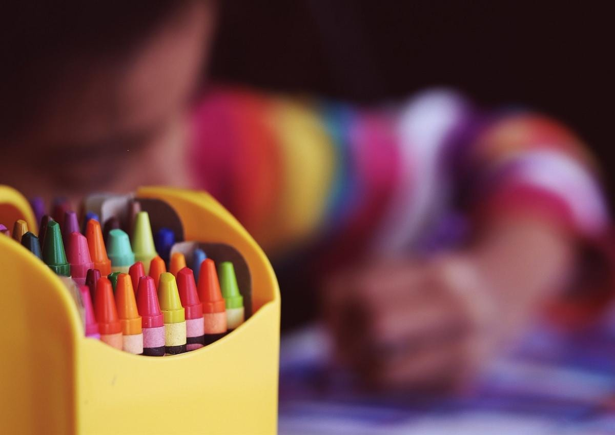 Schule Stifte Malen