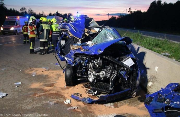 Unfall A8 Burgau-Zusmarshausen 31082019 17
