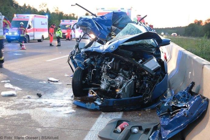 Unfall A8 Burgau-Zusmarshausen 31082019 5
