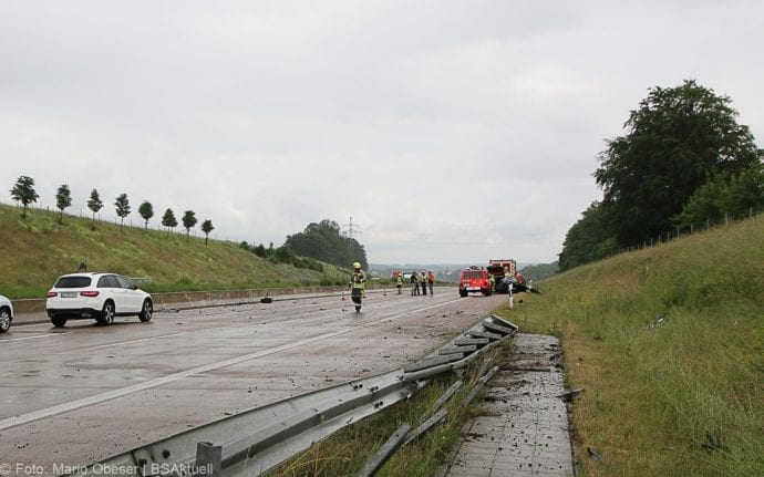 Unfall A8 Günzburg-Burgau 16062019 2