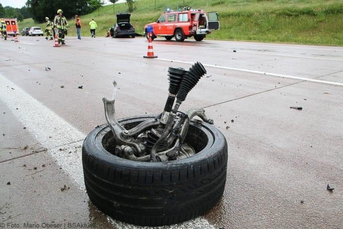 Unfall A8 Günzburg-Burgau 16062019 3