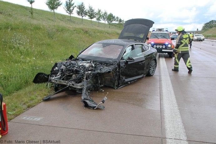 Unfall A8 Günzburg-Burgau 16062019 4