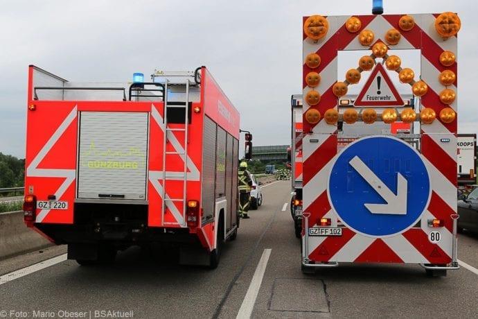 Unfall A8 Günzburg-Leipheim 11062019 13