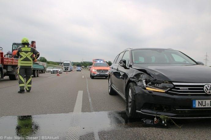 Unfall A8 Günzburg-Leipheim 11062019 5
