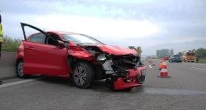 Unfall A8 Leipheim-Günzburg Pkw auf Lkw 10062019 3