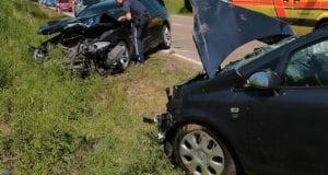 Unfall B16 Faimingen 06062019 10