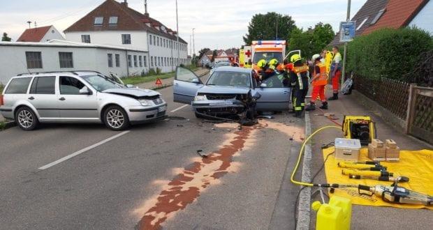 Unfall Lauingen Schabringer Straße