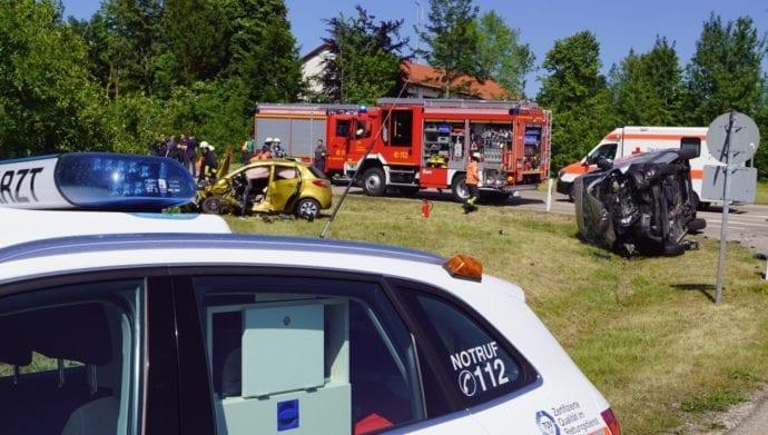 Unfall Oggenhausen K3032 tödlich 07062019 1