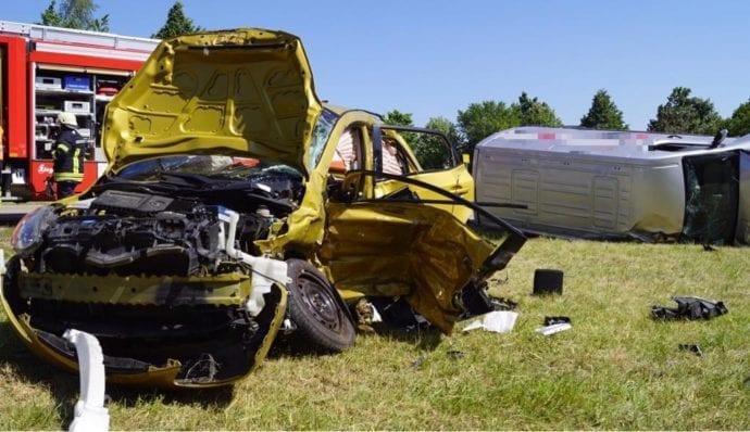 Unfall Oggenhausen K3032 tödlich 07062019 2
