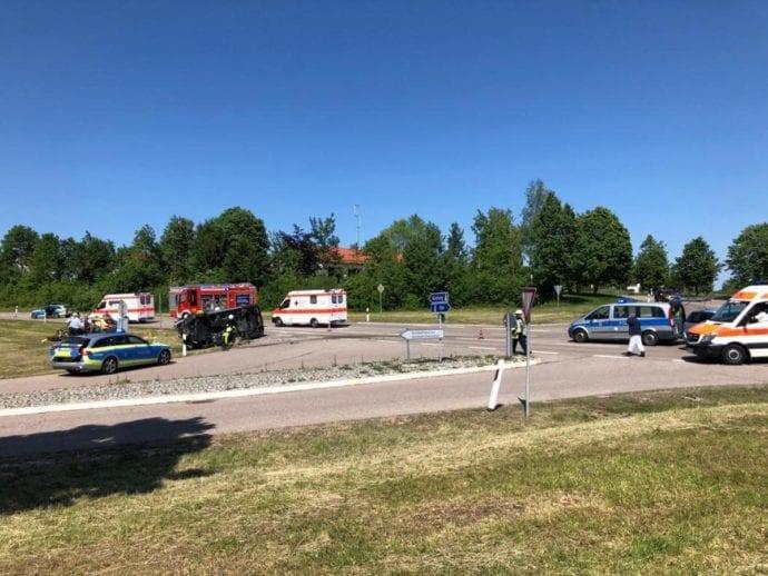 Unfall Oggenhausen K3032 tödlich 07062019 3