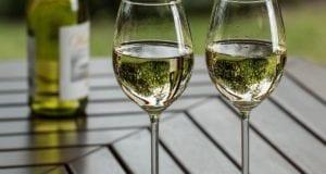 Weinglas Weinflasche