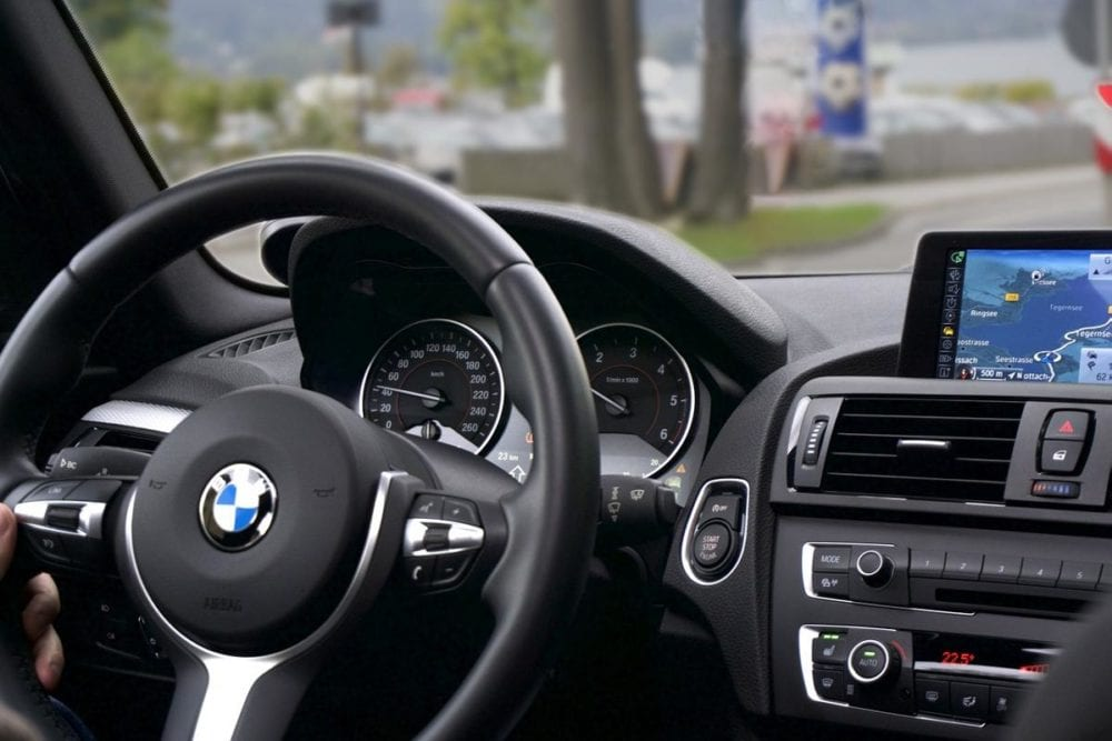 BMW Lenkrad Navi