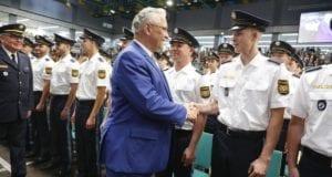 Bayern Polizei Vereidigung