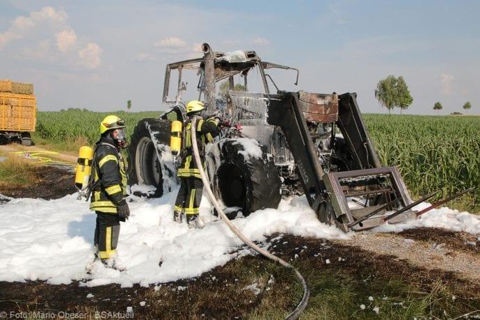 Brand Traktor Schönenberg-Kemnat 26072019 2