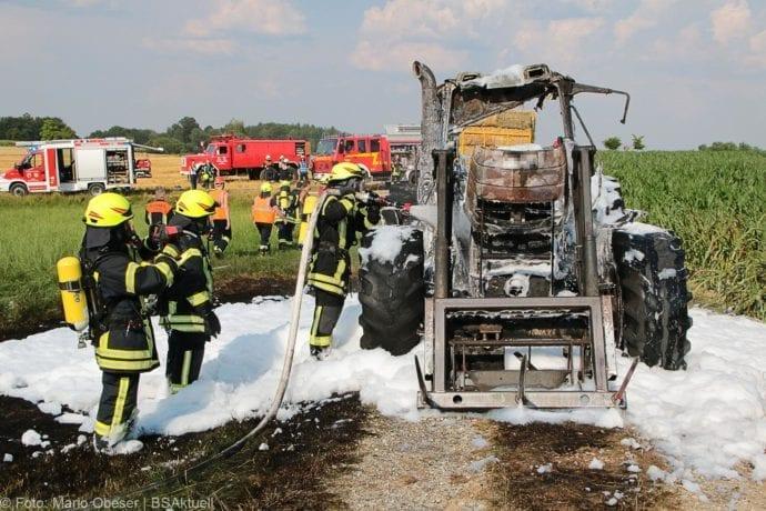 Brand Traktor Schönenberg-Kemnat 26072019 3