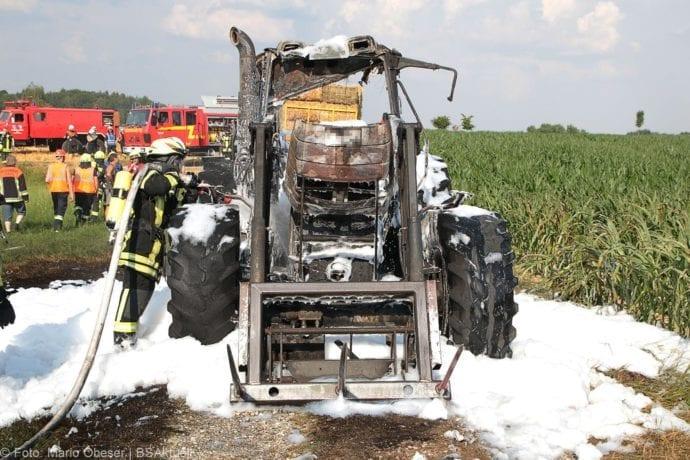 Brand Traktor Schönenberg-Kemnat 26072019 4