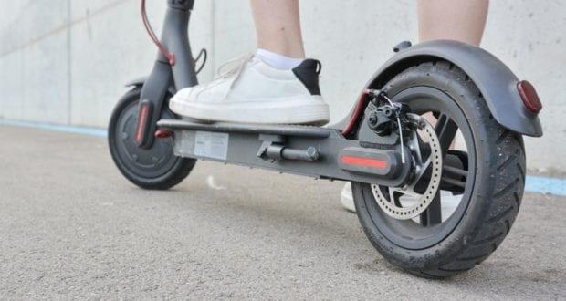 E-Scooter Fahrer