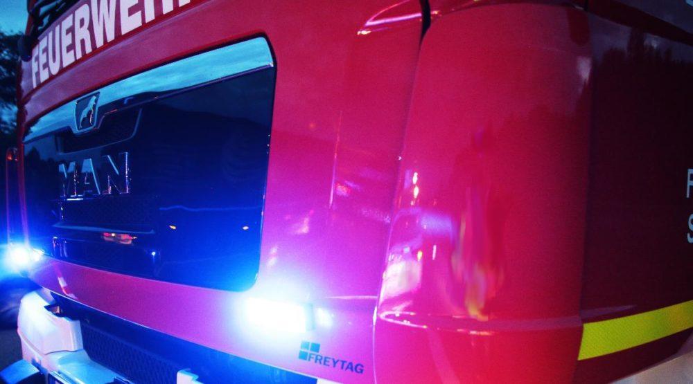 Feuerwehrfahrezeug Frontblitzer