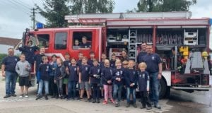 Jubiläum Kinderfeuerwehr Reisensburg