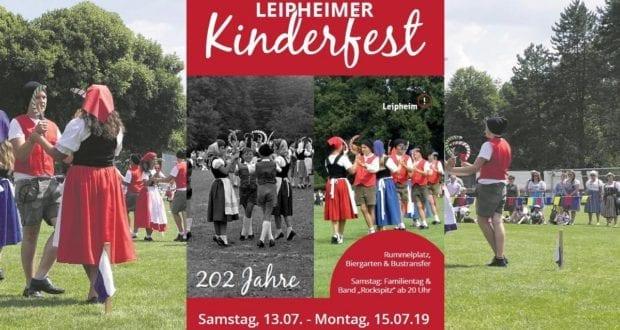 Kinderfest Leipheim 2019