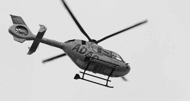 Rettungshubschrauber-in-der-Luft SW