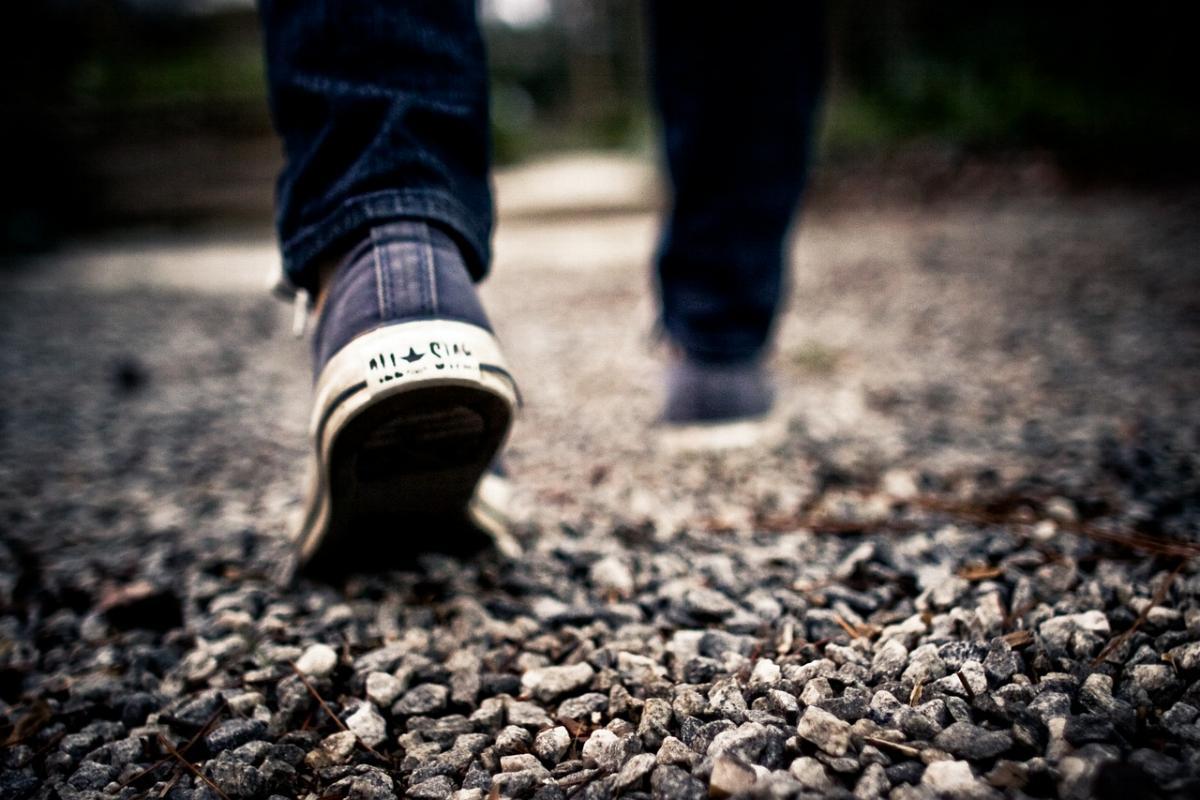 Schuh gehen