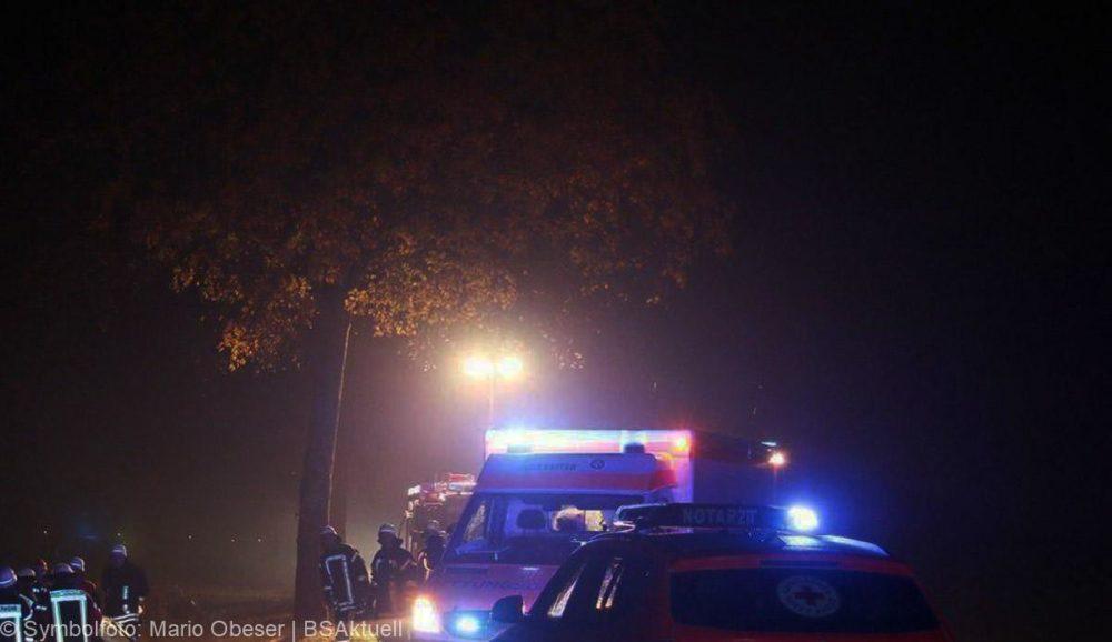 Symbolfoto Rettungsdienst Feuerwehr Rettungswagen