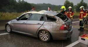 Unfall A8 Burgau-Günzburg 1300m vor AS GZ 28072019 1