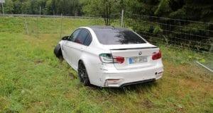 Unfall A8 Burgau-Zusmarshausen BMW abgekommen 27072019 7