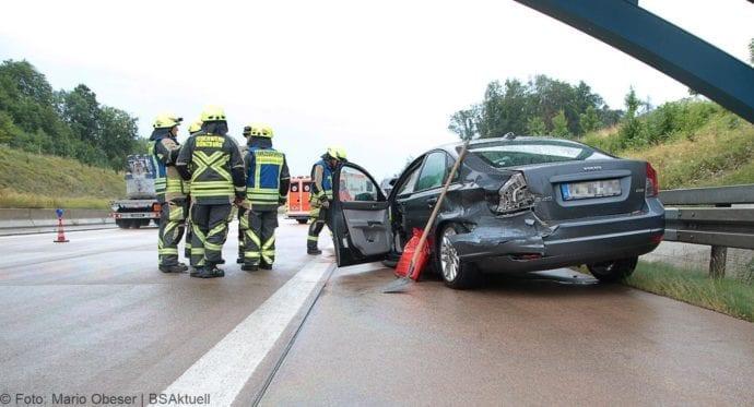 Unfall A8 Günzburg-Burgau 27072019 10
