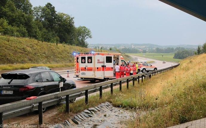 Unfall A8 Günzburg-Burgau 27072019 13