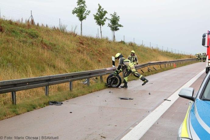 Unfall A8 Günzburg-Burgau 27072019 2