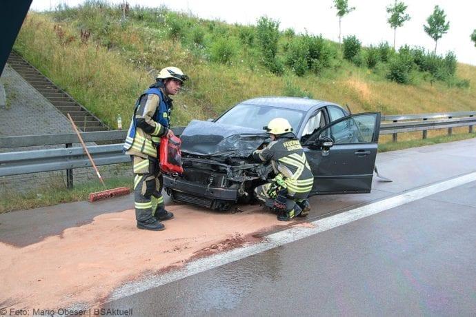 Unfall A8 Günzburg-Burgau 27072019 7