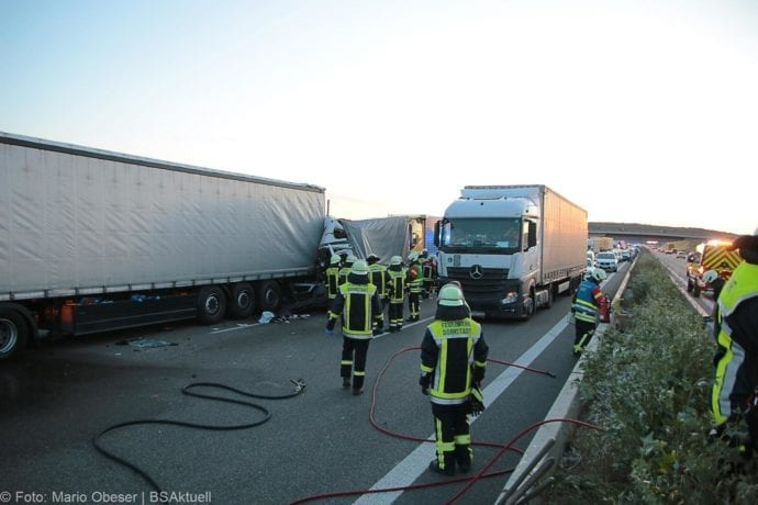 Unfall A8 Merklingen-Ulm 10072019 1