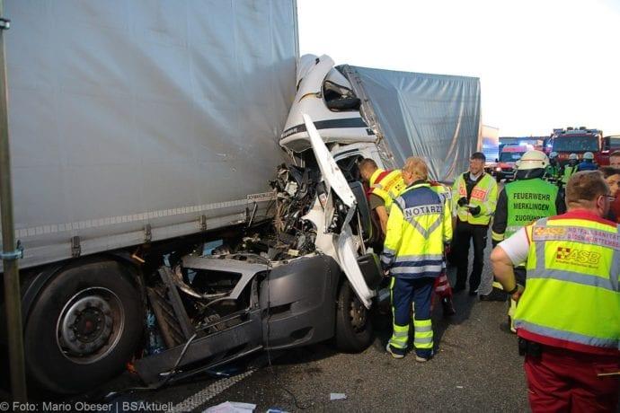 Unfall A8 Merklingen-Ulm 10072019 10