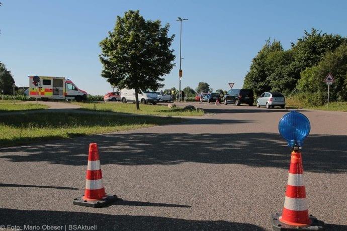 Unfall Günzburg Weißenhorner Straße Roller 04072019 1