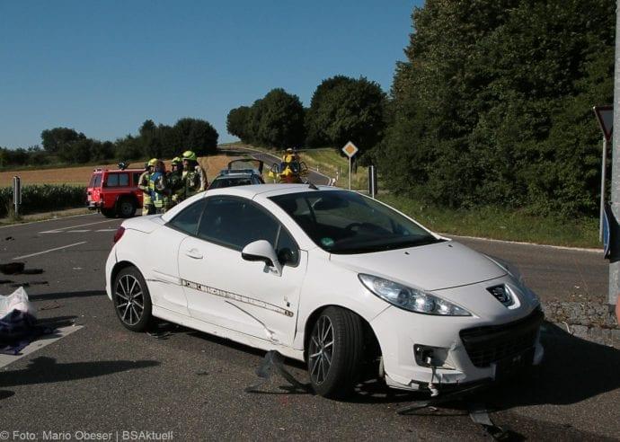 Unfall Günzburg Weißenhorner Straße Roller 04072019 11