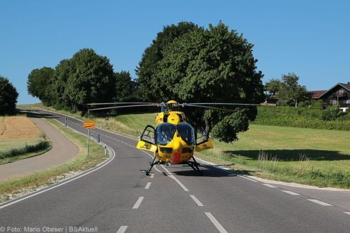 Unfall Günzburg Weißenhorner Straße Roller 04072019 4