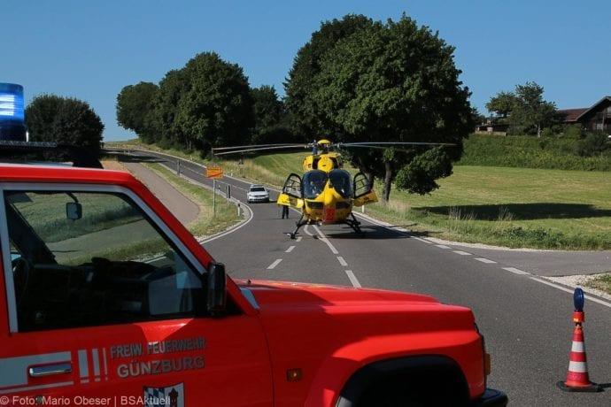 Unfall Günzburg Weißenhorner Straße Roller 04072019 7