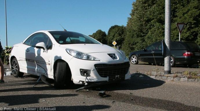 Unfall Günzburg Weißenhorner Straße Roller 04072019 8