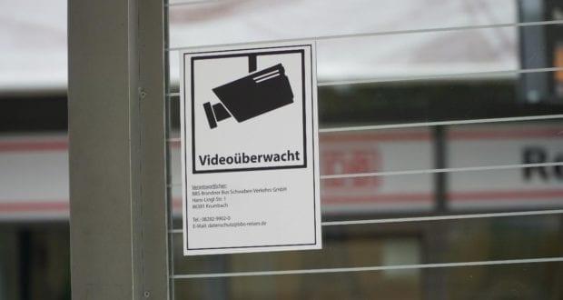 Bahnhof Günzburg Videoüberwachung