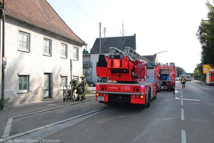 Brand Müll leerstehendes Haus Günzburg 23082019 1