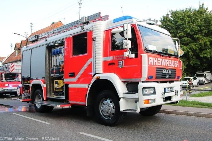 Brand Müll leerstehendes Haus Günzburg 23082019 10
