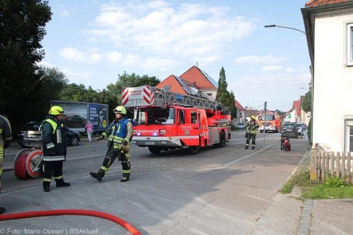 Brand Müll leerstehendes Haus Günzburg 23082019 4