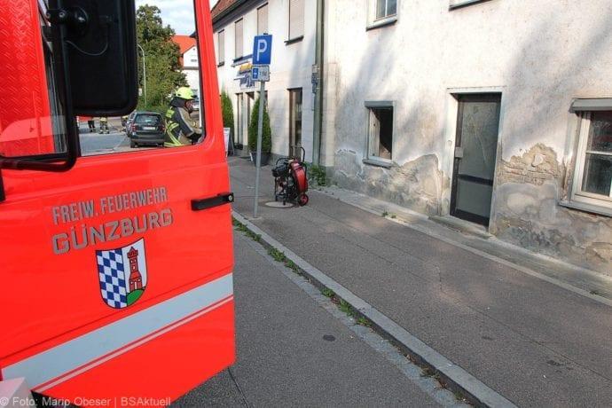 Brand Müll leerstehendes Haus Günzburg 23082019 5
