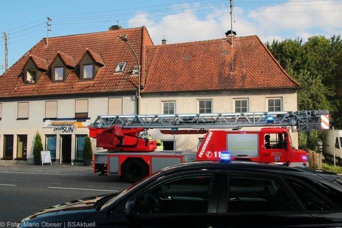 Brand Müll leerstehendes Haus Günzburg 23082019 6
