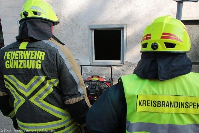 Brand Müll leerstehendes Haus Günzburg 23082019 8