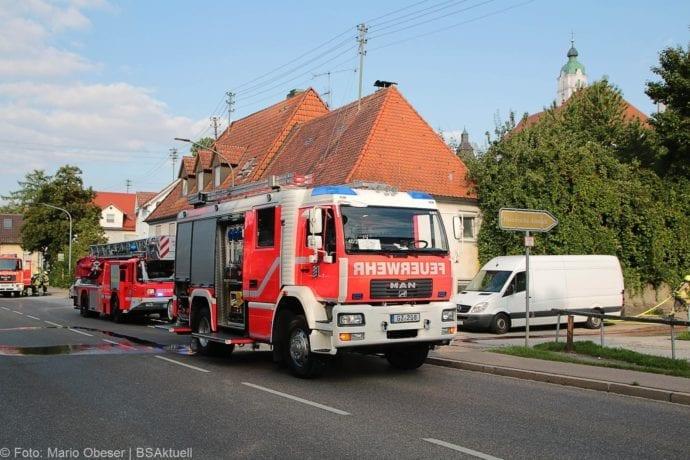 Brand Müll leerstehendes Haus Günzburg 23082019 9